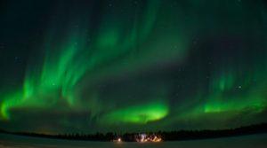lapland rovaniemi aurora