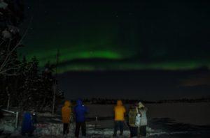 aurora borealis lapland rovaniemi